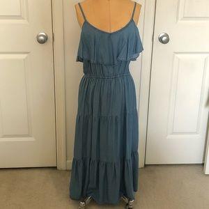 OLD NAVEY Chambray dress